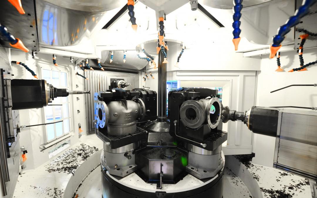 Obrábanie ventilov na ISO40